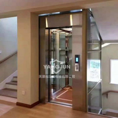 观光式家居电梯视频展示